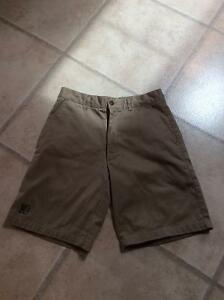 "Girls St. Benedict's School Khaki Shorts Size 30"""