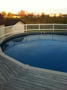Pool and Deck for sale $3800