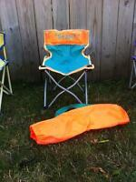 kids lawn chair with carry bag
