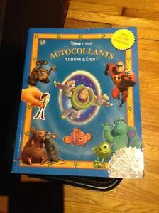 Disney/Pixar album géant autocollants