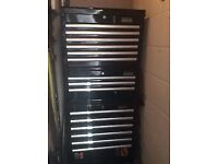 Halfords Tool Box - Industrial 15 Draw Tool Cabinet And Chests