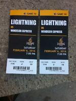 Lightning VS Windsor Express