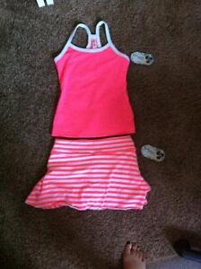 Triple Flip Outfit - Tank top and Skirt - Size 4