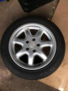 "16"" Vw/ Audi rims with tires"