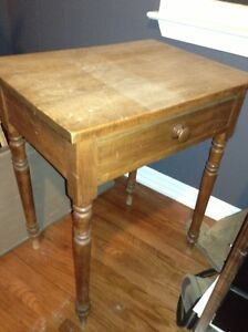 Antique solid wood occasional table for sale London Ontario image 2