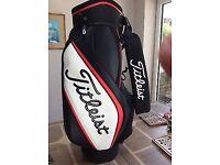 Titleist golf bag tour staff mid size