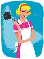 NO TIME TO GET ANYTHING DONE??? NEED A CLEANING LADY??
