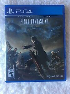 Final Fantasy XV Day One Edition PS4 Perfect Condition