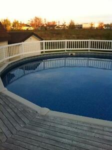 Pool and Deck (pressure treaded) for $3800