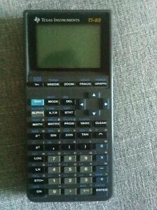 Graphing calculator ti 82