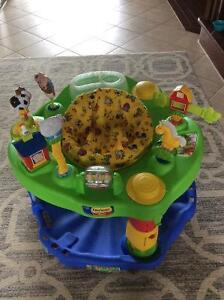 Evenflo Mega Exersaucer in excellent used condition, farm theme