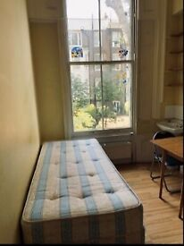 Compact studio flat , just off High Street Kensington, near Holland Park.