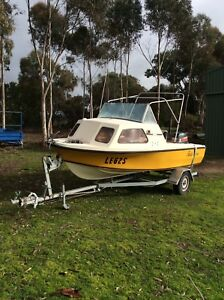 Sports craft 16ft Half Cabin Fishing Boat Mount Barker Mount Barker Area Preview