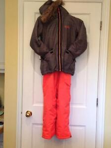 Girls Firefly ski jacket and snow pants