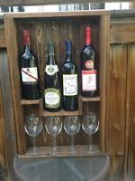 Wine bottle racks 3 different ones