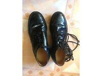 Black Kilt Shoes