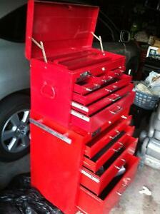 GRAY tool box tool chest tool cabinet