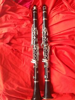 2  Clarinets for sale!