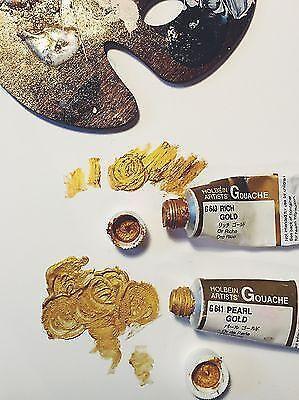 Holbein Metallic Gouache