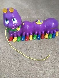 Pull Along Alphabet Pal Caterpillar with music