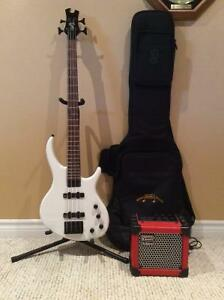 *New* Epiphone Toby 4 String Bass package deal