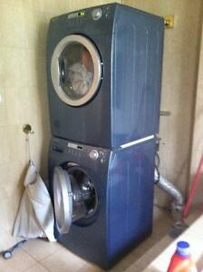 Excellent condition stackable Washer and Dryer (Brada) - $850