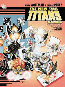 New Teen Titans Games by Marv Wolfman DC Comics (Paperback, 2013)< 9781401203191