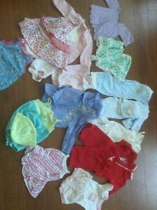 80 items size 3-6 months girls