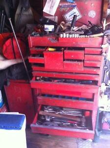 SNAP ON TOOL BOXES LOADED