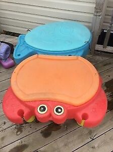 Little tikes crab sand and water table