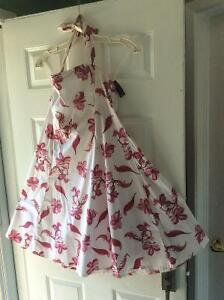 Spring Floral Dress - Halter -New with Tags still on!!!
