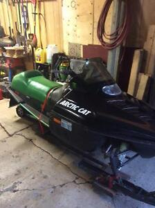 1994 Arctic Cat ZR 580.
