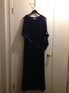 Size 8, Navy Dress.