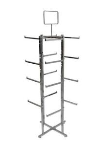 Folding Lingerie Tower - Square Tubing w/ Rectangular Tubular Arms - $125
