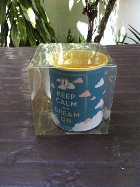 Keep Calm and Dream on mug. Brand new.  Great teacher's day gift.