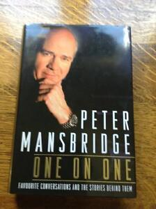 One on One by Peter Mansbridge[Signed]