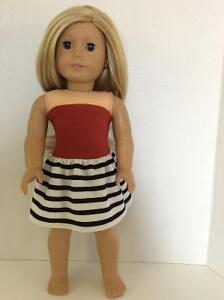 18 inch doll dress will fit American Girl or similar St. John's Newfoundland image 9