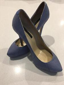 Pre loved Tony Bianco snakeskin pumps (size 6.5) Maidstone Maribyrnong Area Preview