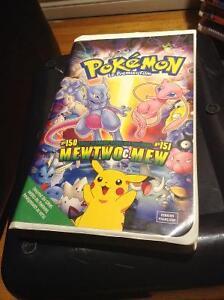 Cassette VHS de Pokémon Le premier film  en français , bon état.