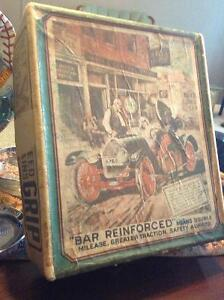 Amazing 1920 Weed car tire chain box..Almost 100 years old!