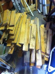 50 - 60 sq. ft. of used hardwood flooring