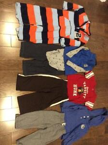 Lot of 18 months boys fall/winter clothing