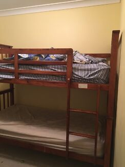 Single bunk beds