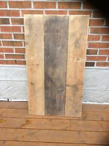 Costum made. Table Top made from reclaimed wood