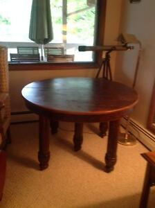 Antique Collectible Oak Harvest/Dining Table