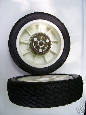 PAIR OF (2) LAWN BOY SELF-PROPELLED DRIVE WHEELS (NEW) :