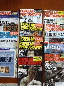 Photography book and magazines