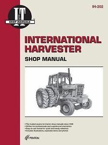 International-Harvester-Shop-Manual-Ih-202-1989-Paperback