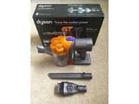 DYSON handheld, 5 months old, warranty