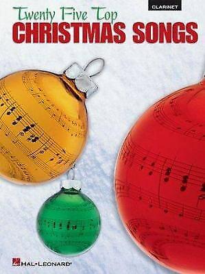 Twenty-Five Top Christmas Songs for Clarinet ()